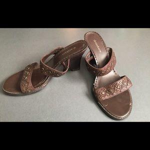 Dress Barn Moroccan style Slip on Sandal